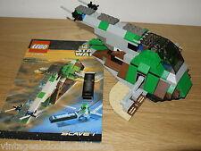 Lego System estrellas guerra esclavo 1 Set 7144 incluye figuras como Nuevo Super Raro