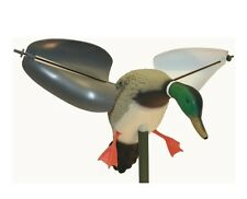 MOJO Outdoors Wind-Driven Mallard Drake Duck Decoy Spinning Motion Wings NEW