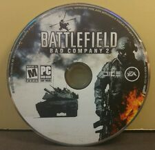 BATTLEFIELD BAD COMPANY 2 (PC) EXCELLENT CONDITION (DISC ONLY)(NO CODE) #045