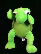 "Calplush Green Turtle Plush Soft Toy stuffed 15"" Animal"