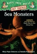 Magic Tree House Fact Tracker #17: Sea Monsters: A Nonfiction Companio-ExLibrary