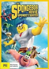 THE SPONGEBOB MOVIE: SPONGE OUT OF WATER – DVD, SEALED BRAND NEW