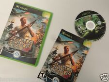 Medal of Honor Rising Complete Original XBOX 1 Video Game System DISK FLAWLESS