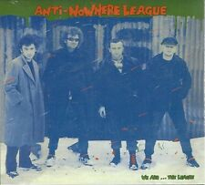 ANTI-NOWHERE LEAGUE - WE ARE...THE LEAGUE - (sealed digipak cd) - AHOY DPX 604