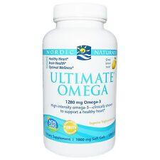 Ultimate Omega, Lemon Flavor, 120 Soft Gels - Nordic Naturals