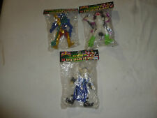 NEW POWER RANGERS FIGURE LOT DX EVIL SPACE ALIENS GOO FISH PIRANTIS HEAD FINSTER
