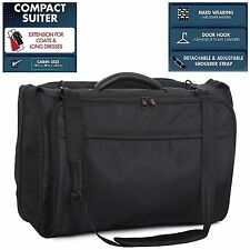 IT Luggage Business Suit Garment Suiter Carrier Carry-On Travel Luggage in Black