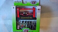 M2 MACHINES 2016 1/64 1955 CHEVROLET BEL AIR SATIN RED MODEL KIT R11  NEW