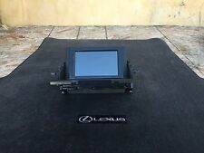 LEXUS 11-14 CT200H DASH NAVIGATION SCREEN MONITOR DISPLAY GPS NAVI OEM