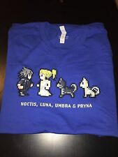 Final Fantasy XV - OFFICIAL T-shirt - Comic Con Exclusive - L size - NEW - RARE