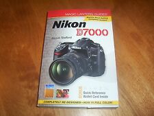Magic Lantern Guides NIKON D7000 Digital Photography Photo SLR Guide Book NEW