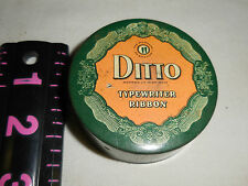 Vintage ditto typewriter ribbon tin can only
