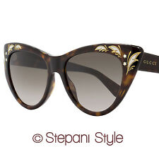 Gucci Cateye Sunglasses GG3806S 086HA Dark Havana 3806