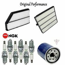 Tune Up Kit Cabin Air Oil Filters Spark Plugs for Acura MDX 2001 2004