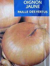 Graines semences OIGNON JAUNE Paille des vertus Précoces      200 seeds