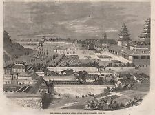 1860 JAPAN THE IMPERIAL PALACE AT JEDDO