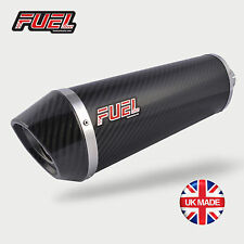 Suzuki SV650 2016+ Diablo Carbon Fibre Oval Mini UK Road Legal Race Muffler