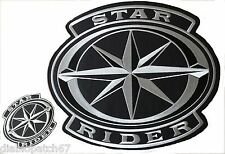 Yamaha Star Rider Road Star Roadliner Royal Warrior Raider XVS patch set of 2