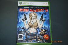 Command & Conquer Red Alert 3 Xbox 360 UK PAL **FREE UK POSTAGE**