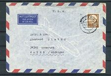 Luftpostbrief BRD Mi.-Nr. 190 EF Mainz-Somerset Michigan - b2984