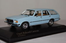 Opel Rekord D Caravan 1975 hellblau 1:43  Minichamps neu & OVP