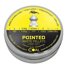 Coal-Skenco .177 Pointed Hunting Pellet Powerful accurate superior penetration