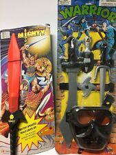1980s Korean Knock Off Bootleg Tmnt MOTU SKULLMAN MIGHTY SWORD WEAPON LOT MOC