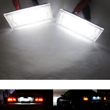 18LED License Plate Lights Lamp Error Free for BMW 3 Series E46 2D 325Ci/330Ci