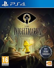 LITTLE NIGHTMARES PS4 GAME UK PRE-ORDER RELEASED 28 APRIL 2017 Rated 16+