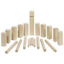 MINI Kubb Wikingerspiel 12cm Holz Wikinger Spiel NEU Wurfspiel mit Tragebeutel