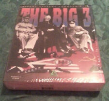 The Big 3 Assume supreme Command, Vintage windows 3.1  CD rom game