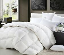 Luxurious California King Size 1200 TC Goose Down Comforter 100% Egyptian Cotton