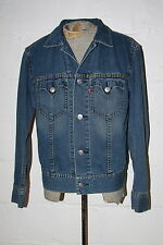 EUC Levi's Type 1 Iconic Blue Denim Jean Jacket Sz L