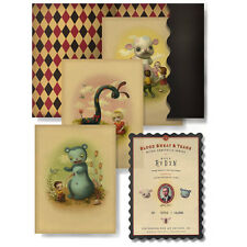 Mark Ryden Blood Sweat & Tears Limited Edition Micro Portfolio Art Print Set New