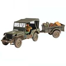 Forces of Valor Willys Jeep General Purpose US Army w/1 Figure 1:32 Unimax 81008