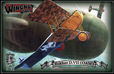 OOP Wingnut Wings 1/32 Fokker D.VII (OAW) High Quality Scale Model Kitset #32030