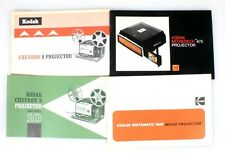 KODAK PROJECTION MANUAL COLLECTION SET OF 4