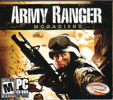 ARMY RANGER MOGADISHU Shooter for PC Windows Combat Game NEW SEALED