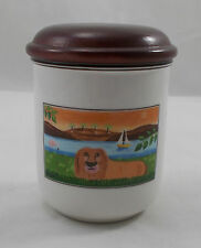 Villeroy & and Boch design NAïF LAPLAU Storage Jar LEONE 9cm bl005