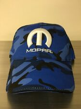 NEW! BLUE CAMO MOPAR HAT / CAP      (SHIPS IN A BOX)