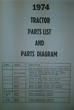 Gilson Montomery Ward Garden Tractor  1974 Parts Manual Gil-  64pg Rare to Find