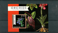 Guyana 2012 MNH Orchids of South America 1v S/S Flowers Flora Zygopetalum