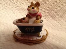 WEE FOREST FOLK  SPECIAL COLOR MC  SQUEAKY CLEAN GOLD TRIM