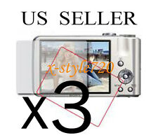 3x Sony CyberShot DSC-H70 Camera Clear LCD Screen Protector Guard Cover Film