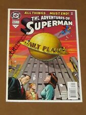 "ADVENTURES OF SUPERMAN #562 NM 9.4 ""END OF AN ERA"" DAILY PLANET SHUT DOWN LOIS"