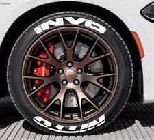 "NITTO INVO - Tire Stickers - 1.5"" For 16"" and 17"" Wheels - (8 decals)"