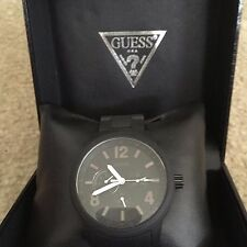 Guess W0185G1 Mens Multifunction Black Watch New in Box