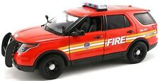 Motormax 1/24 FDNY New York City Fire Department  Ford PI Utility SUV