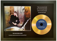 GEORGE MICHAEL 'YOU HAVE BEEN LOVED' SIGNED GOLD DISC DISPLAY