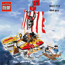 Enlighten Pirates Legendary 1312 Turtle Ship Figure Building Blocks Toy Fit LEGO